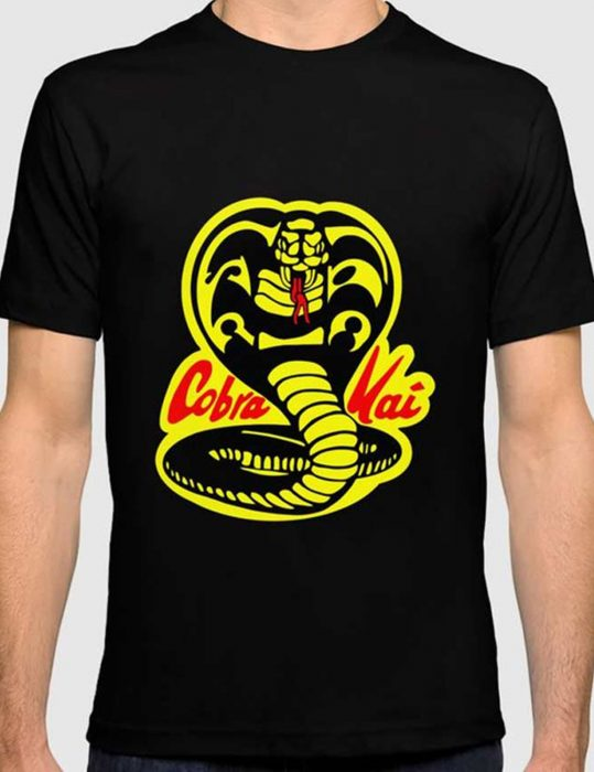 Cobra-Kai-Logo-Black-T-Shirt