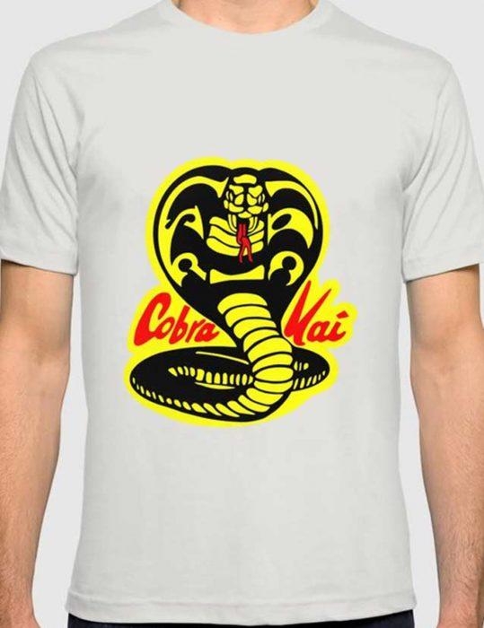 Cobra-Kai-logo-T-Shirt