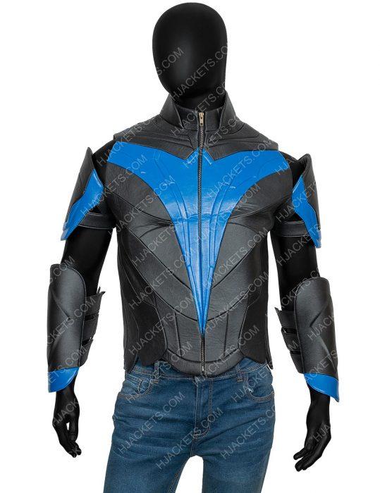 Dick Grayson Nightwing Titans Brenton Thwaites Jacket