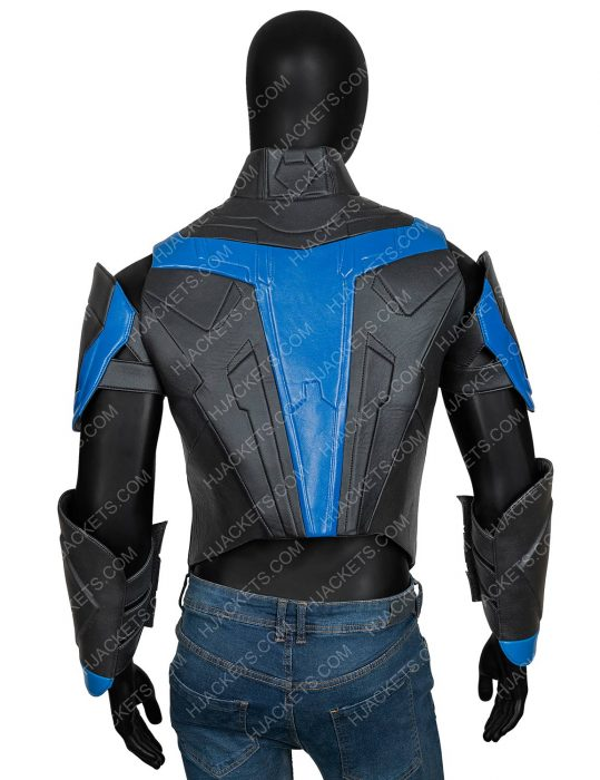 Dick Grayson Nightwing Titans Brenton Thwaites Leather Jacket