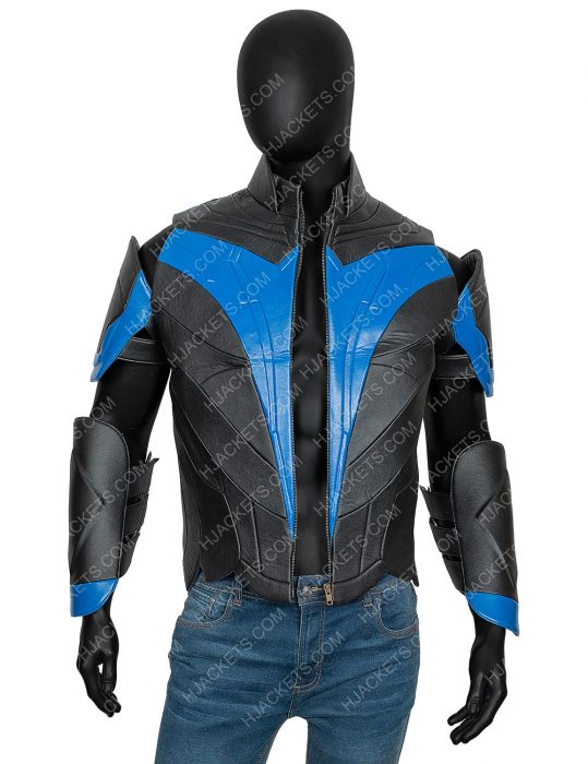 Dick Grayson Nightwing Titans Jacket