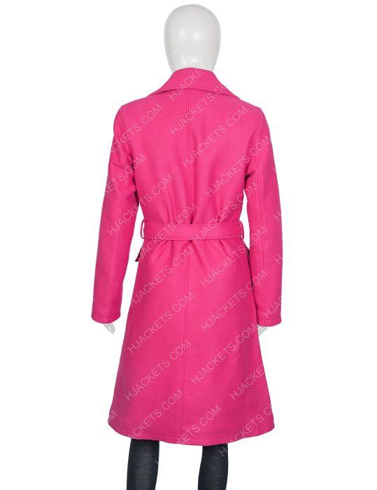 Emily in Paris Emily Cooper Pink Coat