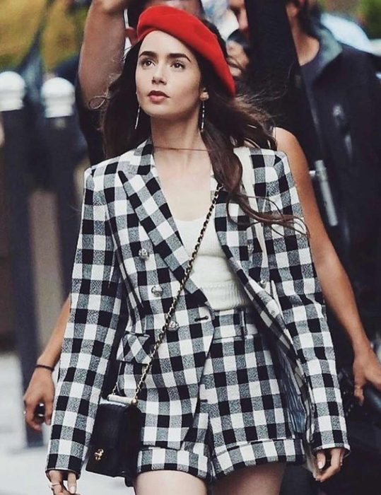 Emily in Paris Lily Collins Blazer