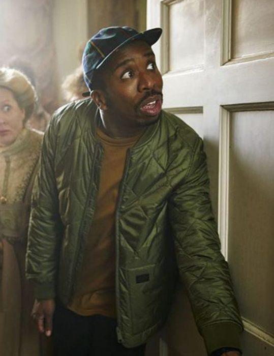 Ghosts Season 3 kiell Smith Bynoe jacket