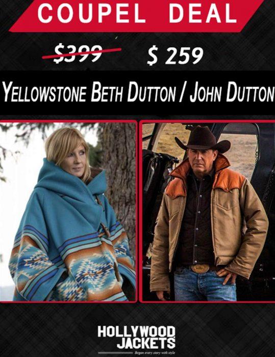 Halloween-Couple-deals-Yellowstone-Beth-Dutton-and-John-Dutton