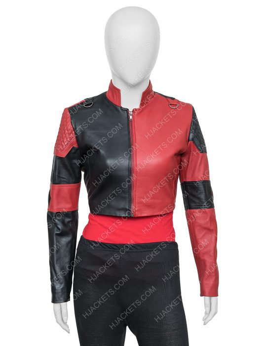Harley Quinn The Suicide Squad Cropped Jacket