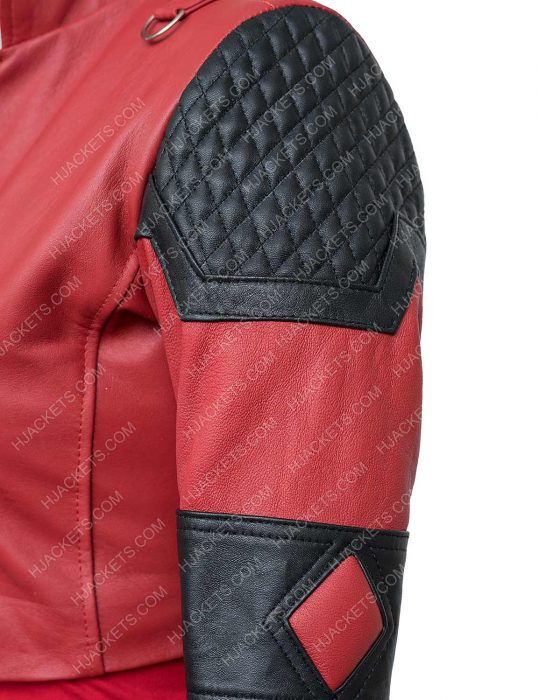 Harley Quinn The Suicide Squad Leather Jacket