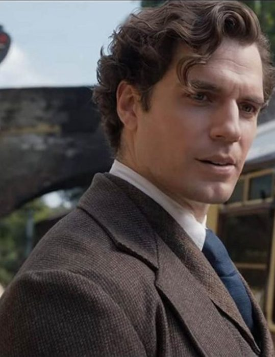 Holmes Henry Cavill Suit