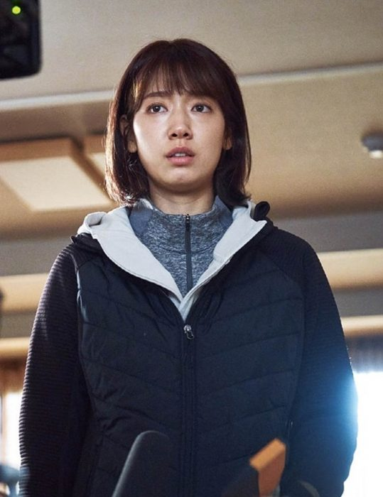 Kim Yoo-bin Alive Shin-Hye Park Hooded Jacket