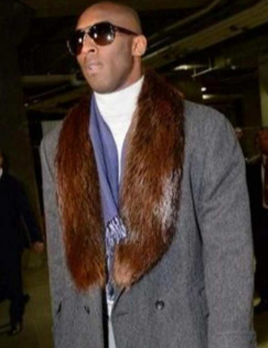 Kobe Bryant Fur Coat