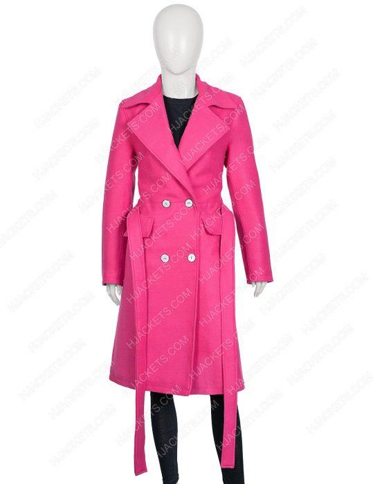 Lily Collins Emily in Paris Emily Cooper Coat
