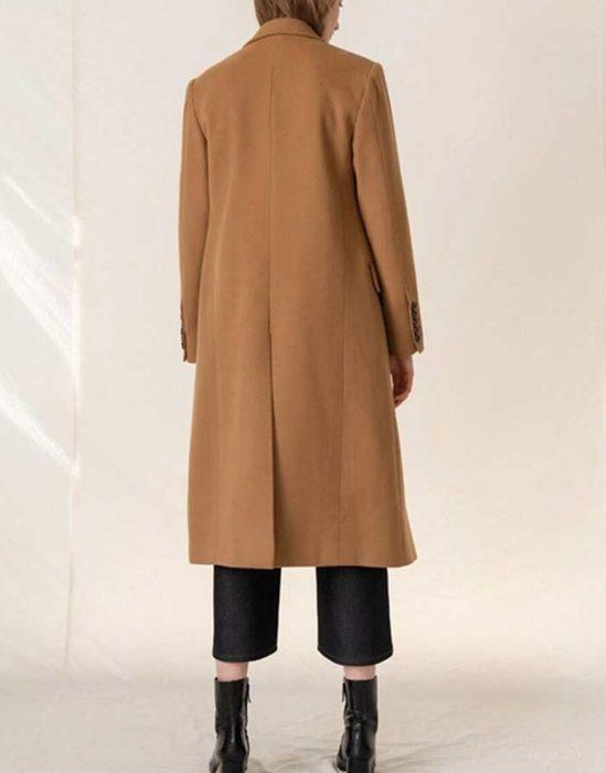 Love, Guaranteed Rachael Leigh Cook Camel Coat