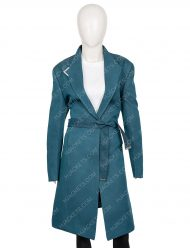 Love, Guaranteed Rachael Leigh Cook Teal Coat