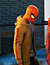 Marvel-Spider-Man-PS4-Miles-Morales-Brown-Zipper-Hoodie