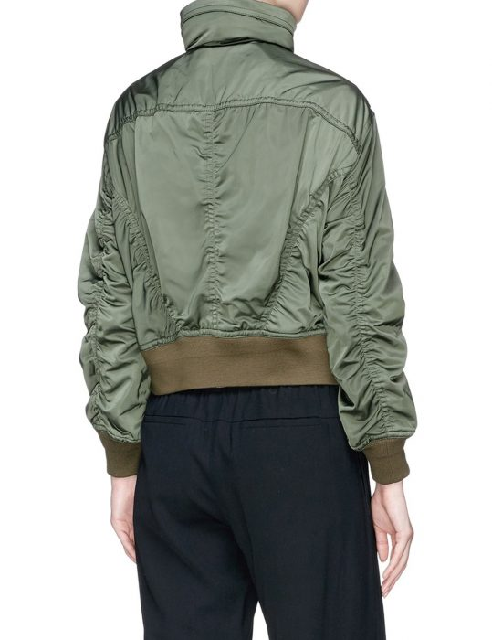 Nini Green Bomber Jacket