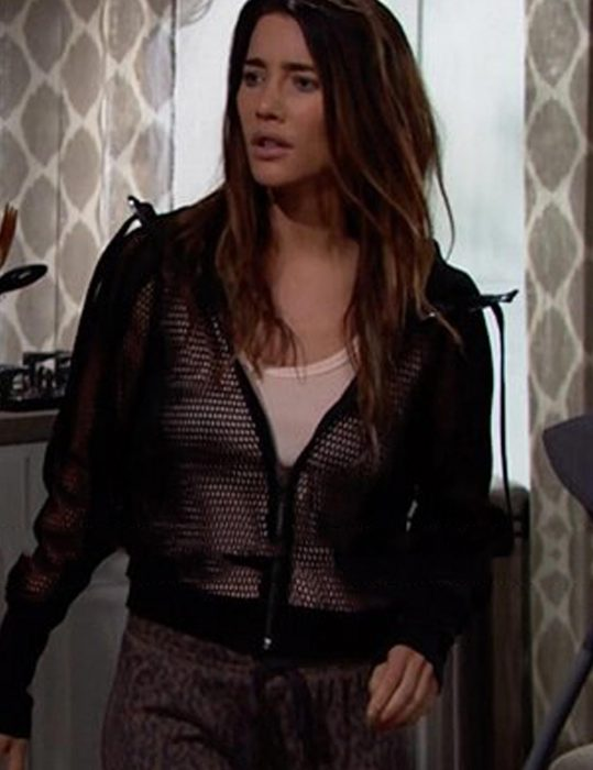 On The Bold And The Beautiful Steffy Forrester Mesh Jacket