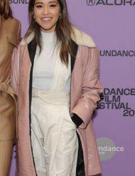 Sundance-Film-Festival-Gina-Rodriguez-trench-Coat