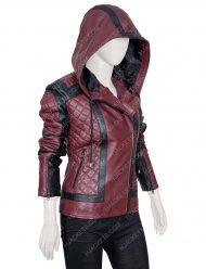 Taylor HardingWhy Women Kill kirby Howell Leather Jacket