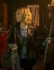 The-100-Season-7-Eliza-Taylor-Leather-Jacket