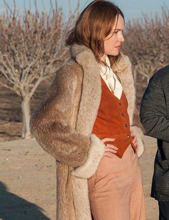 The Devil Has a Name Kate Bosworth Fur Coat