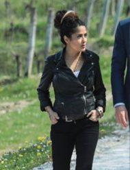The Hitmans Wifes Bodyguard Saima hayek Jacket