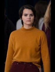 Trinkets Brianna Hildebrand Brow Sweater