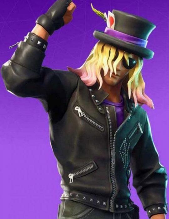 Vedio-Game-Fortnite-Stage-Slayer-Black-Jacket
