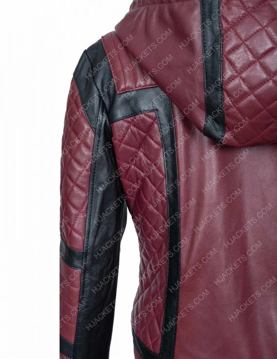 Why Women Kill kirby Howell Quilted Jacket