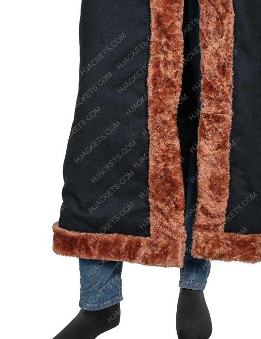 Yahya Abdul Mateen Candyman Anthony McCoy Shearling Coat