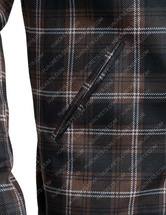 Yellowstone S02 John Dutton Plaid Jacket