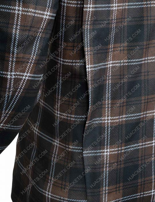 Yellowstone S02 John Dutton Plaid check Jacket