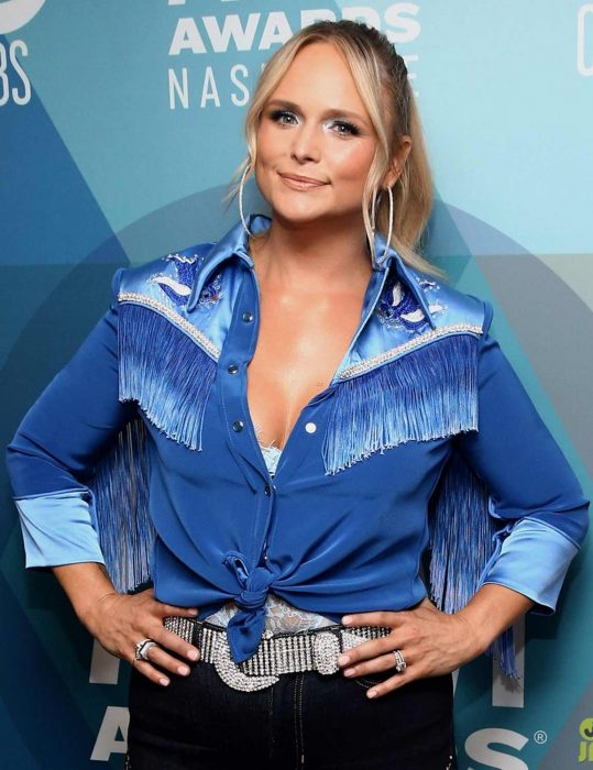 acm awards 2020 bluebird miranda lambert jacket