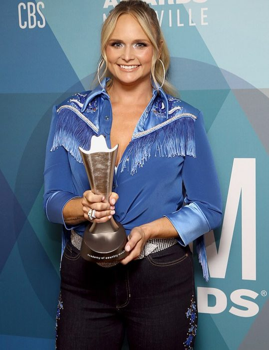 acm awards 2020 song bluebird miranda lambert jacket
