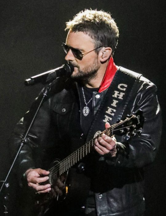 acm awards stick that in your country song eric church leather jacket