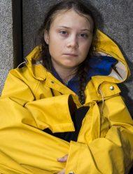 greta thunberg i am greta yellow Coat