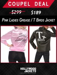 pink ladies grease and t birds jackets halloween couple deals