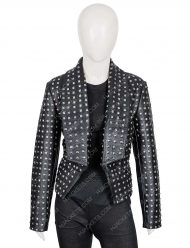 rhobh kyle richards black jacket
