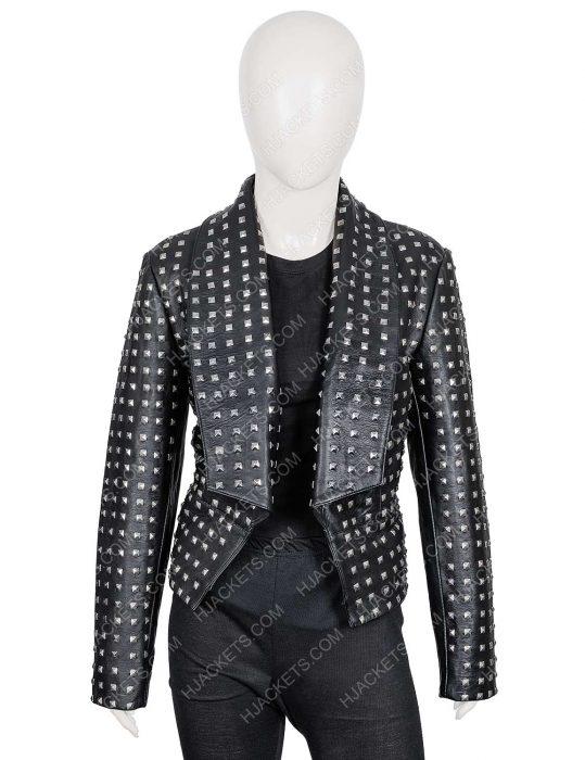 rhobh kyle richards black jacket