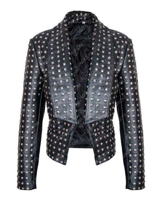 rhobh kyle richards leather jacket