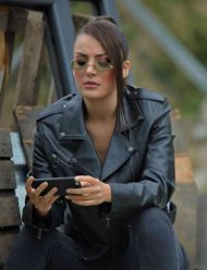 Çukur-S04-Seren-Erdenet-Leather-Jacket