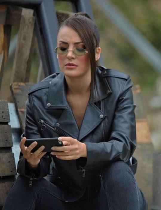 Çukur-S04-Seren-Erdenet-Leather-Jacket
