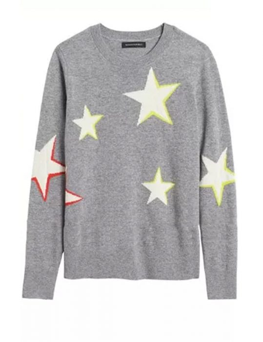 Lara Spencer Star Sweater