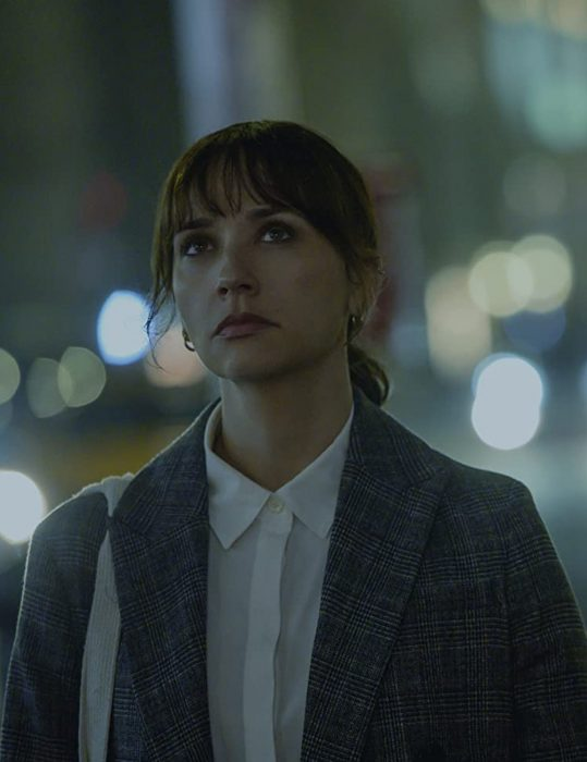 On the Rocks Rashida Jones Blazer Coat