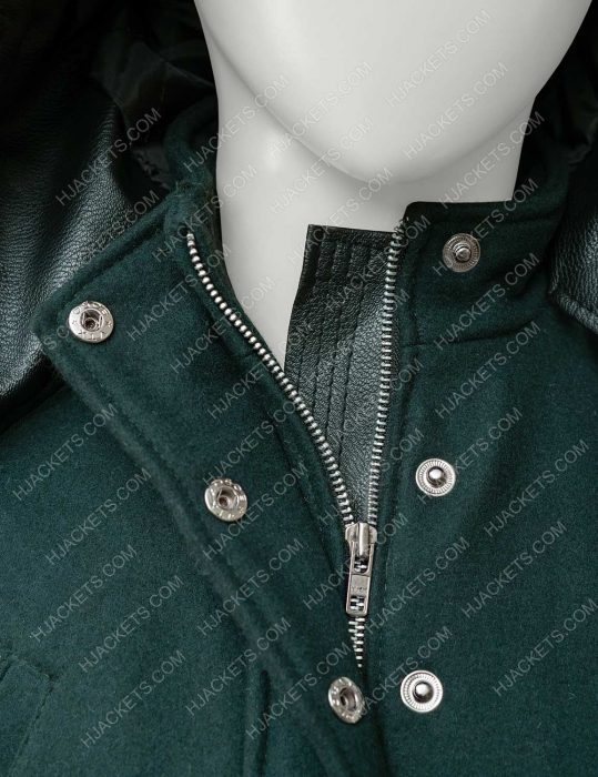 Amber Stevens West Christmas Unwrapped Coat