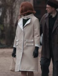 Beth Harmon The Queen's Gambit Anya Taylor-Joy Coat