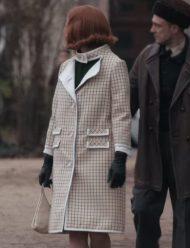 Beth Harmon The Queen's Gambit Anya Taylor-Joy Coat