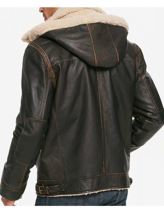 Brown-hooded-jacket
