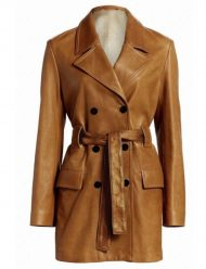 Cassie-The-Flight-Attendant-Leather-Trench-Coat