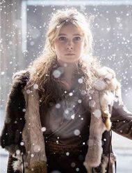 Eleanor-Worthington-Cox-Britannia-Season-3-Fur-Coat