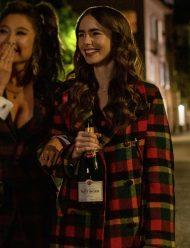 Emily-In-Paris-Emily-Cooper-Checked-Coat